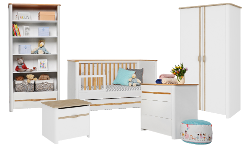 exklusive babybetten babyzimmer online bestellen zimmeria shop. Black Bedroom Furniture Sets. Home Design Ideas