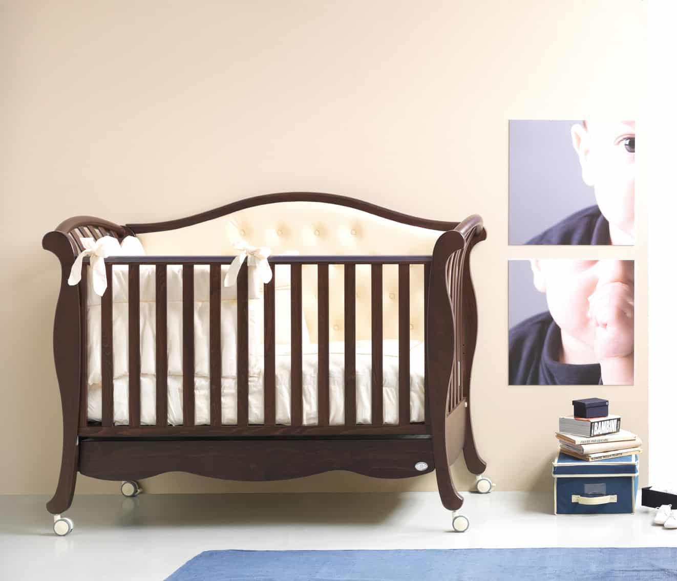 """Babybett 125x60 """"diva button"""" online bestellen & kaufen"""