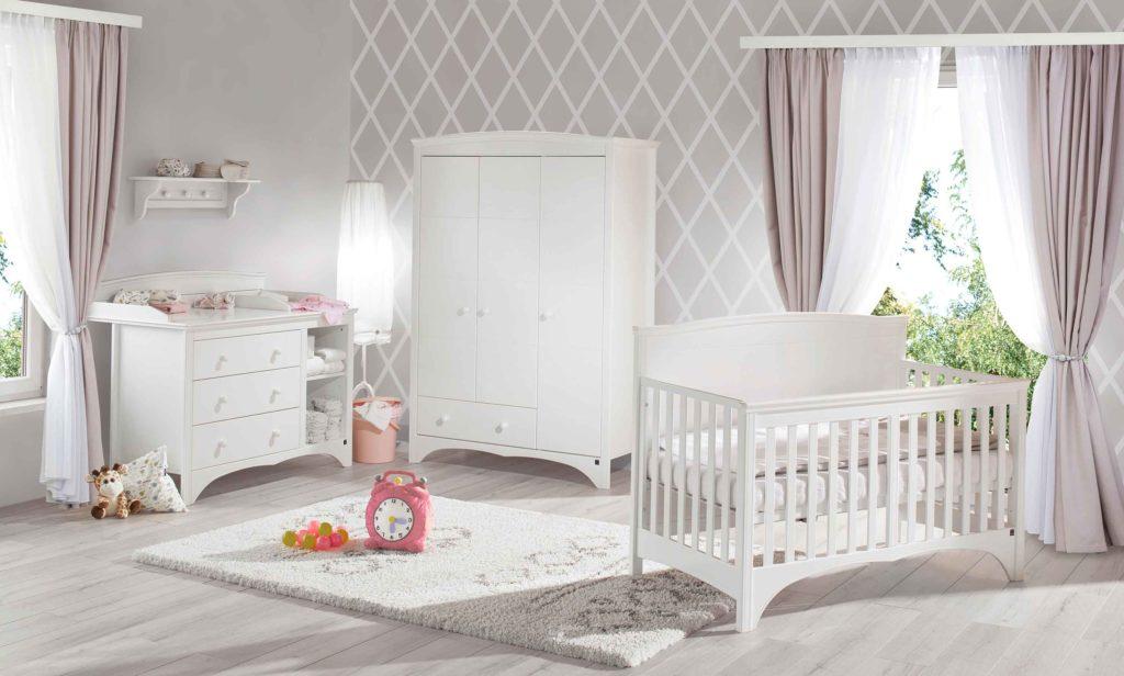 Babyzimmer Elisabeth weiß 3-teilig
