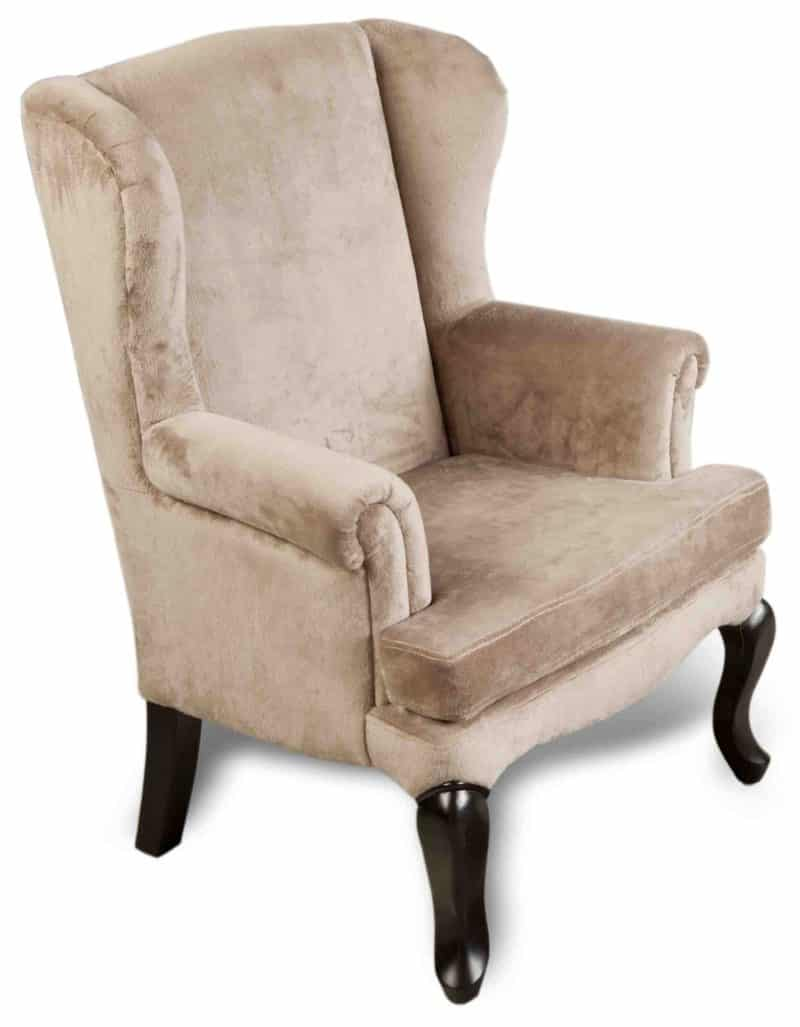 Kindersessel Baron, Velour in Taupe