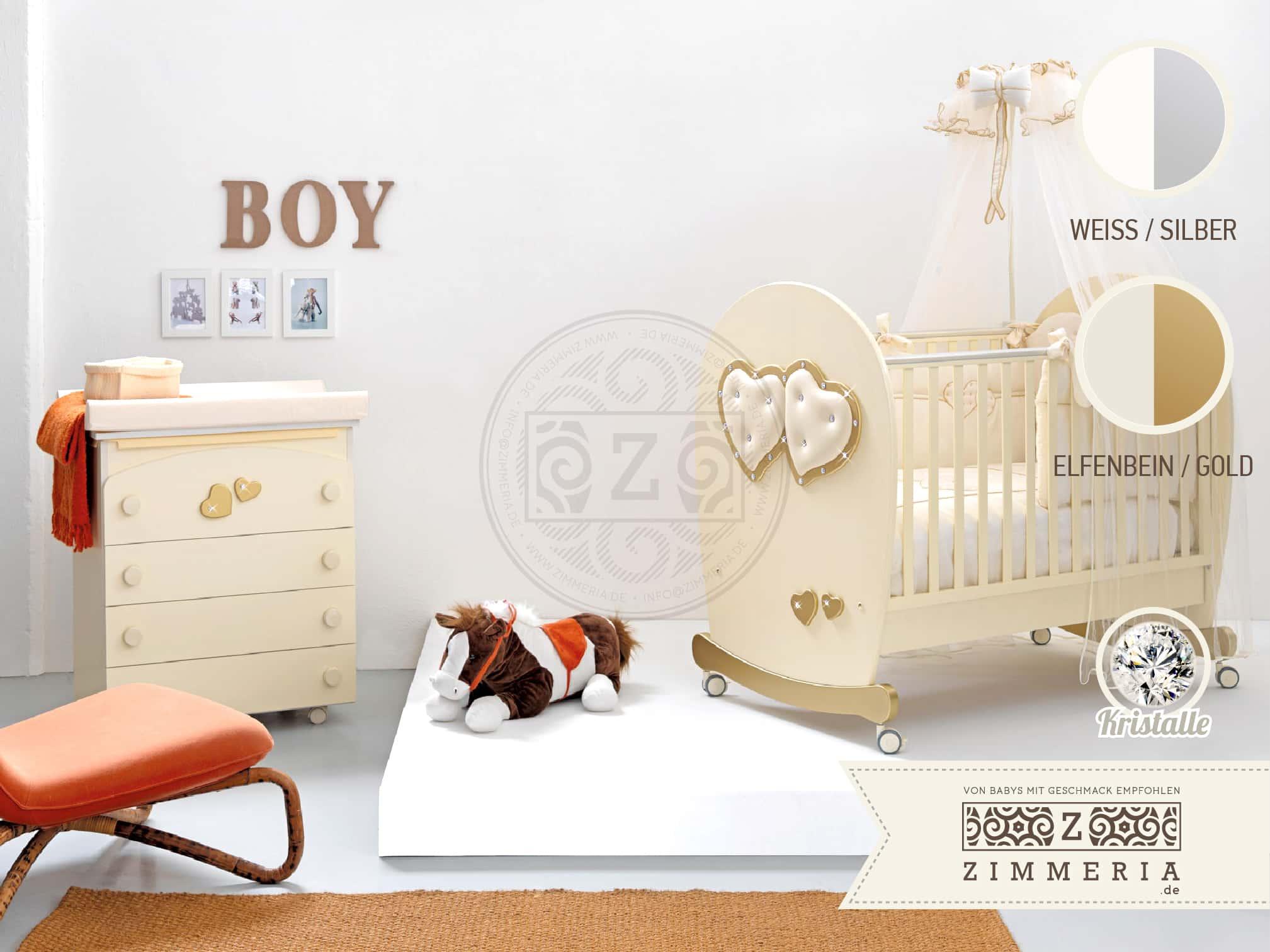 "Kinder- & Babyzimmer ""Soft Mama"" mit Babybett online kaufen | {Babyzimmer online kaufen 77}"