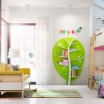 buecherregal-baum-design-line-gruen-kinderzimmer-komplett