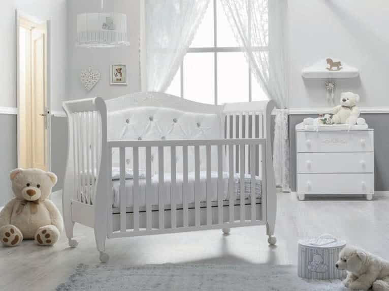 babybett 125x60 magnifique lux online bestellen kaufen. Black Bedroom Furniture Sets. Home Design Ideas