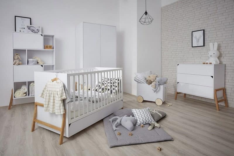 Babyzimmer Lotta In Weiss Eiche Komplett Online Kaufen Zimmeria De