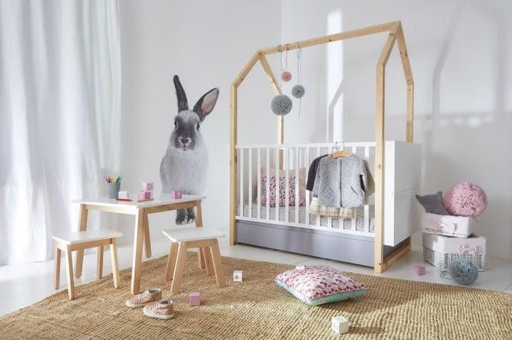 babybett pinette 140x70 mattwei online kaufen zimmeria. Black Bedroom Furniture Sets. Home Design Ideas