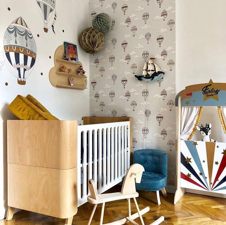 Babyzimmer Hoppa Babybett Lifestyle