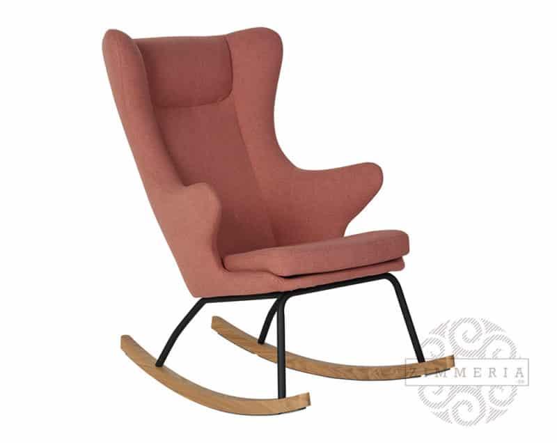 Schaukelsessel-Stillstuhl-Relaxsessel-De-Luxe-von-Quax-Pfirsich-für-Babyzimmer-rot-zimmeria