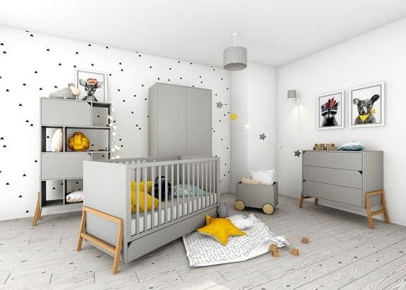 Babyzimmer -lotta-grau
