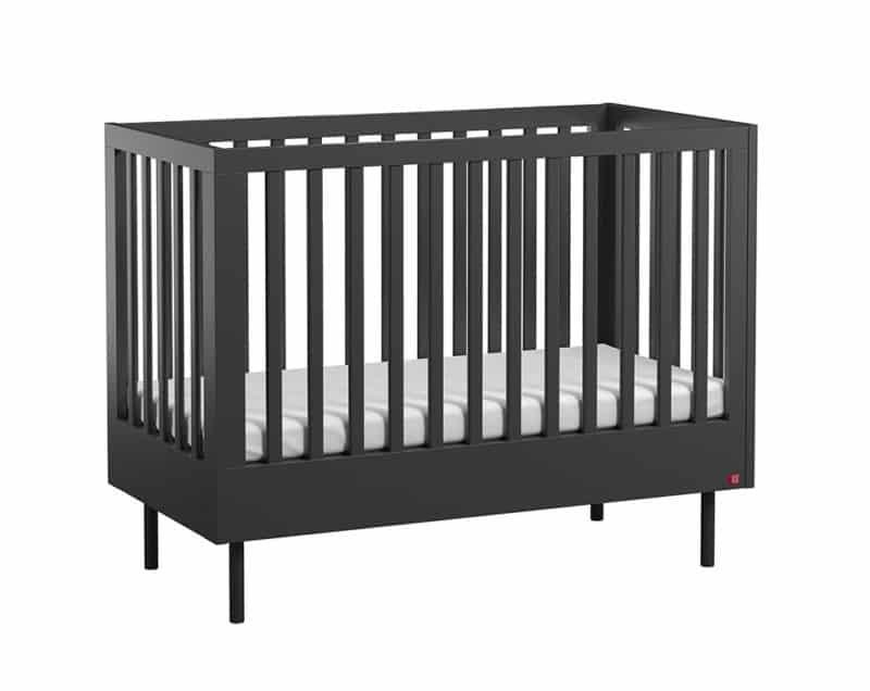 Babybett Cute 120x60 cm in Schwarz