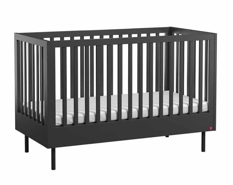 Babybett Cute 140x70 cm in Schwarz