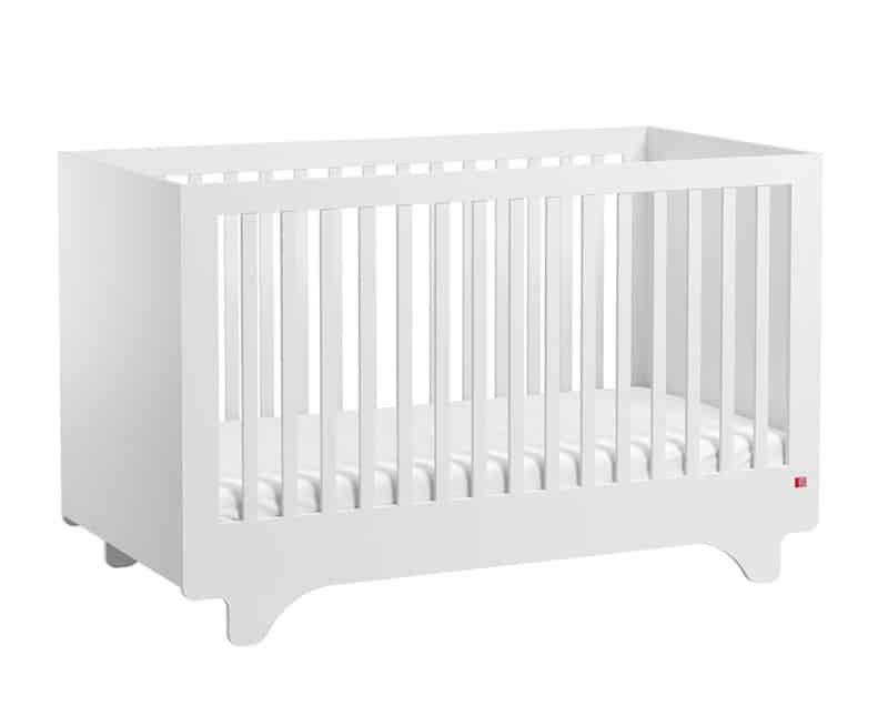 Babybett Playwood 140x70 cm Weiss
