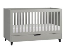 Babybett Simple 140x70 in Grau