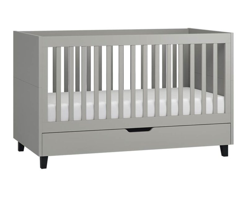Babybett Simple 140x70 in Grau