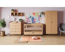 Babyzimmer Simple in Eiche 3-teilig