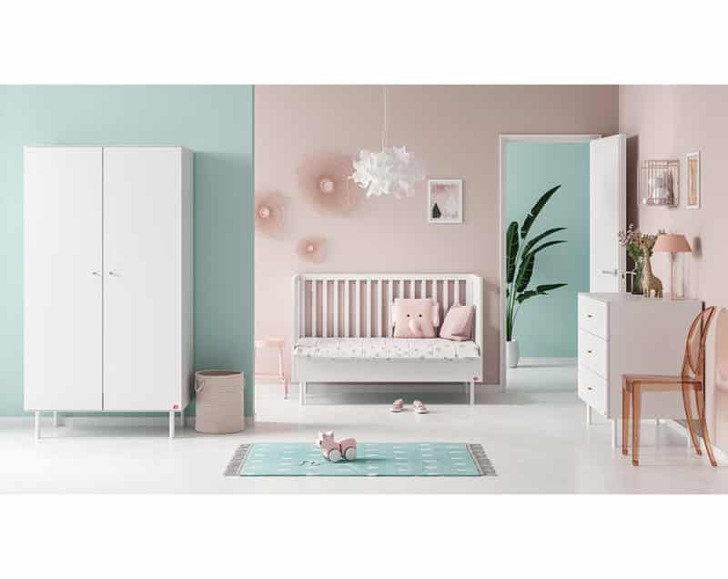Babyzimmer Cute 3-teilig in Weiss