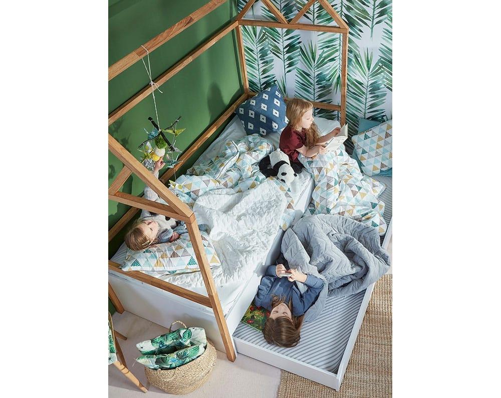 Haus-Kinderbett