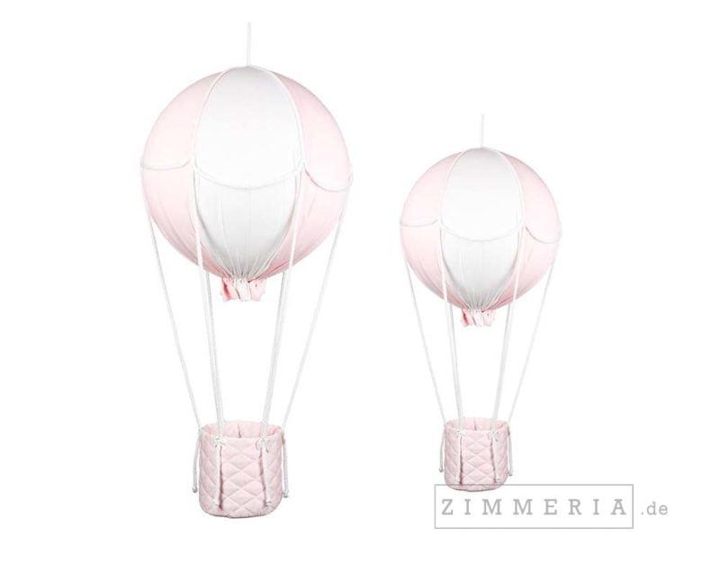 """Heissluftballon """"Potsdam Rosa"""" 2er Set Kinderzimmer-Deko Zimmeria.de"""