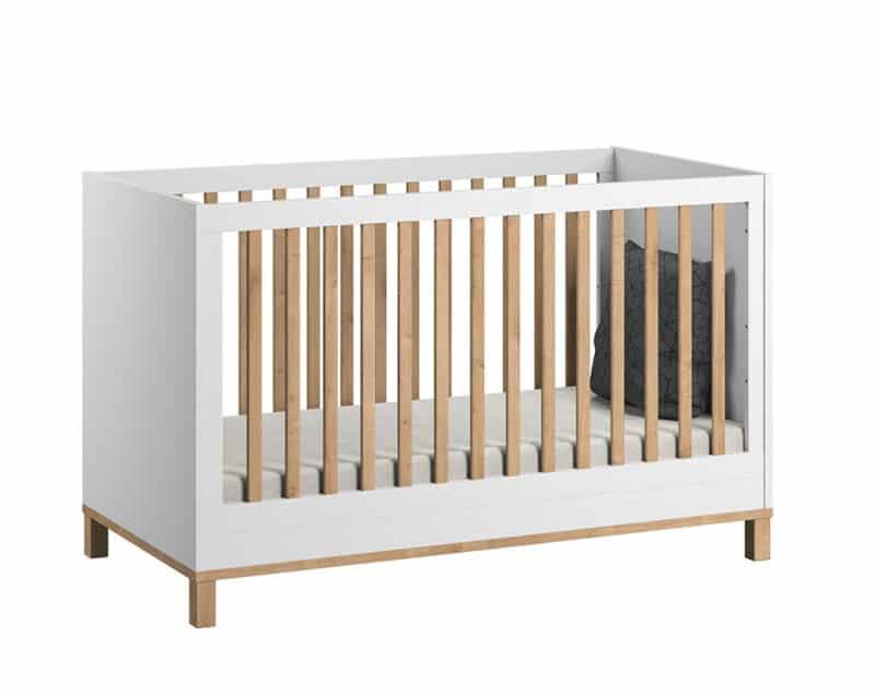 Kinderbett Altitude 140x70 in weiß