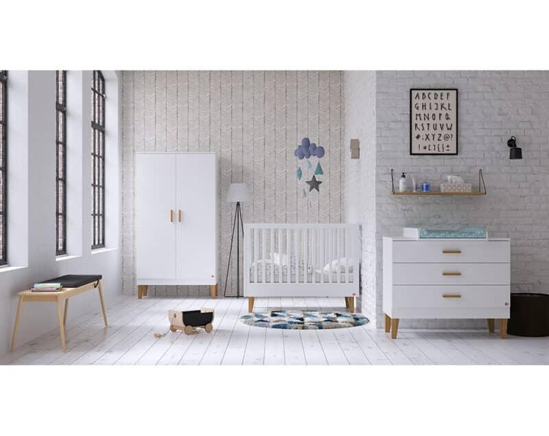 Kinderzimmer Lounge in Weiß