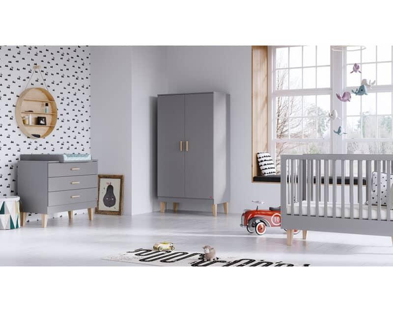 Kinderzimmer Lounge in Grau