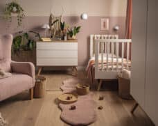 Babyzimmer-Set Nature Baby in Weiß mit Eiche Lifestyle